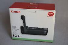 SOLO Scatola per Battery Grip CANON BG-E6 completa di istruzioni