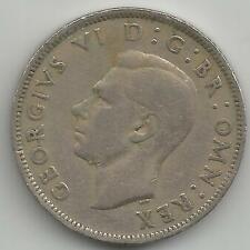 GB Jorge VI dos chelines-Florin 1948