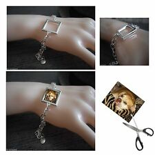 Silver Plated Bracelet Photo Bracelet Silver Plated Charm Bracelet Add Photo
