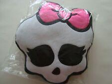 Monster High Cushion Pillow Skull Shape Pink Bow Brand New Official Licensed