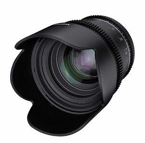 Samyang 50mm T1.5 MK2 Nikon Full Frame VDSLR/Cine Lens