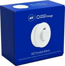 NEW Samsung - SmartThings ADT Smart Smoke Alarm - White  F-ADT-SMK-1