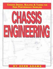 Chassis Engineering Book by Herb Adams-designing-building-tuning- BRAND NEW!