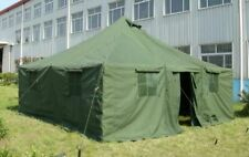 12 person military army tent camping hunting double layer waterproof 16'x16'
