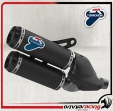 Termignoni D145 Terminale Scarico Carbonio Omologato Ducati Monster 1200 S 14>