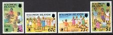 1989 SOLOMON ISLANDS CHILDRENS GAMES WORLD EXPO 89 SG657-660 mint unhinged