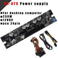 DC 12V 250W 24Pin Pico PSU PC ATX Power Supply Atom Htpc ITX Car Power Supply