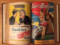 Bound Super Magician Comics May 1945-April 1946 Walt Gibson, Blackstone