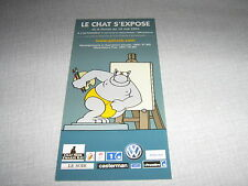 BD PHILIPPE GELUCK LE CHAT FEUILLET PROMO (4)