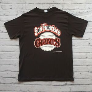 Vintage 80s San Francisco Giants Tshirt by Champion Shirt Single Stitch