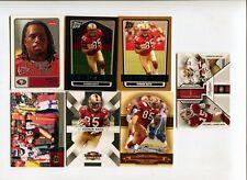 Lot cartes NFL Foot US Vernon Davis 49ers Football Americain