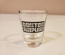 Doktor Sleepless Shot Glass (Warren Ellis Avatar Press)