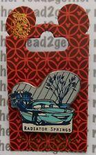Disney Pin DCA Cars Land Flo's V8 Cafe Radiator Springs