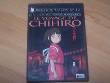 LE VOYAGE DE CHIHIRO  - STUDIO GHIBLI - DVD
