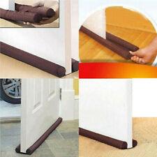 Twin Door Draft Dodger Guard Stopper Energy Saving Protector Doorstop Home Deco