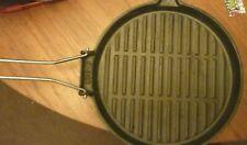 Cast Iron Griddle Plate/Pan 24cm