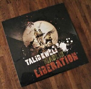Banksy x Talib Kweli & Madlib Vinyl - Liberation LP Flags Steve Lazarides WOH