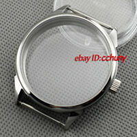 Corgeut 42mm Stainless Steel Case Fit 6497/6498 Seagull ST36movement watch P638