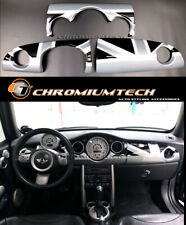 MK1 MINI Cooper/S/ONE JCW R50 R52 R53 Black Union Jack Dashboard Cover for LHD