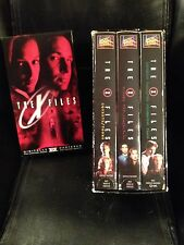 The X Files VHS tapes, 6 episodes from season 1, Popular Sci-Fi Series!