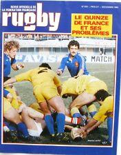 Rugby n°810 - 1980 - Le XV de France et ses problèmes - Cardiff - Périgord -