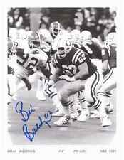 """Brian Baldinger Autographed Baltimore Colts 8 1/2"""" x 11"""" Photo w/COA Cert."""