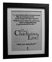 THE CHIEFTAINS+Live+POSTER+AD+RARE ORIGINAL 1977+QUALITY FRAMED+FAST GLOBAL SHIP