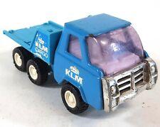 Vintage Diecast Buddy L KLM Cargo Truck Blue Japan B887