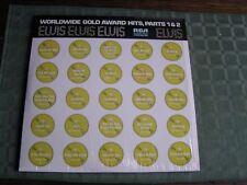 ELVIS WORLDWIDE 50 GOLD AWARD HITS 1&2 Vinyl 2 LP Record Album Set R213690-NM/M-