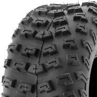 SunF Replacement 22x10-8 22x10x8 Knobby Rear ATV UTV Tire 6 Ply Tubeless A030