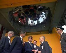 President John F. Kennedy and Wernher von Braun at Cape Canaveral 8x10 Photo