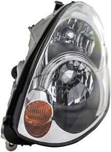 Headlight Assembly Left Dorman 1592368 fits 05-06 Infiniti G35