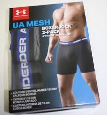 """NIB Lot of 2 Men's Under Armour BoxerJock - 6"""" inseam - Boxer Brief - M - $40"""