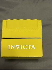 Invicta Watch Box, BOX ONLY, NO WATCH, Very Good Cond,Papers And Warranty Papers