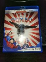 Dumbo (Blu-ray Disc,dvd, 2019) has no digital