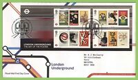 G.B. 2013 London Underground m/s on Royal Mail on First Day Cover, London W2