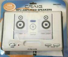 Craig Digital MP3 White Speaker CMA3008 NEW Factory Sealed
