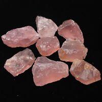 50G Natural Raw Pink Rose Quartz Crystal Rough Stone Specimen Healing Crystal