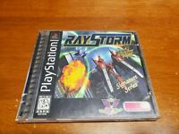 RayStorm (Sony PlayStation 1, 1997) PS1 CIB Complete TESTED Fast Shipping