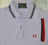 - FRED PERRY SPECIAL EDITION MEN'S LIGHT VIOLET COLOR POLO SHIRT size M medium