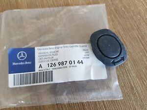 Genuine Mercedes C126 SEC Seat Backrest locking rubber cap A1269870144