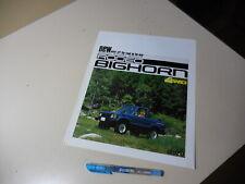 ISUZU RODEO BIGHORN 4WD Japanese Brochure 1981/11 52 C223