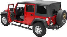 Kit marches pieds électrique avec plateau, pour Jeep Wrangler JK Unlimited, 4 po