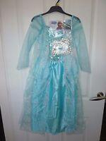 Disney FROZEN Elsa Dress Up Costume Age 7-8 Years NWT