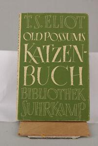 T.S. Eliot - Old Possums Katzenbuch Englisch und Deutsch. aus 1952