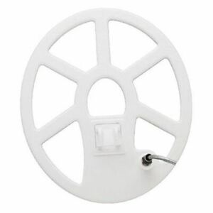 "Tesoro 12x10"" Elliptical Concentric Search Coil White 3ft Cable 12x10C-SW-E"