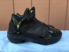 EUC Nike Air Jordan 2K9 S23 Black Metallic Gold 345337-071 US Sz 10 EU 44