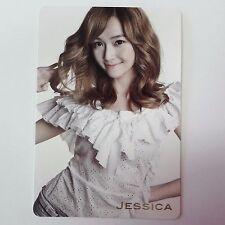 SNSD K-POP Girls' Generation GENIE Original Limited Jessica Photocard 1p Used