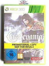 Castlevania Lords Shadow Xbox 360 Nuevo Precintado Promo Sealed Brand New PAL/UK