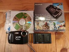 FUJIFILM FinePix XP50 Digital Camera Water Shock Freeze Dust Proof Black BUNDLE